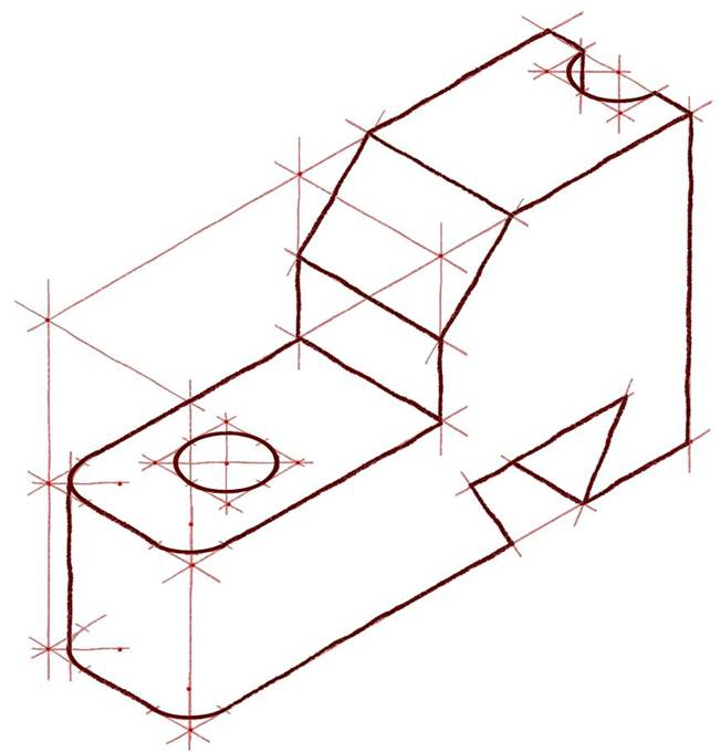 3 Views Of Isometric Drawing | Free download best 3 Views Of