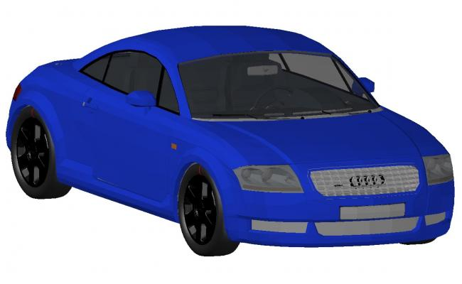 650x400 Creative Audi Car Block Drawing Details Dwg
