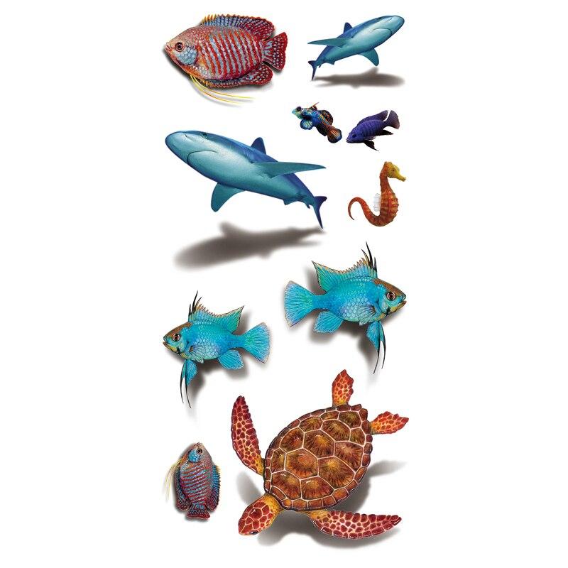 3d Fish Drawing