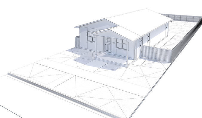 676x396 House Model Cgtrader