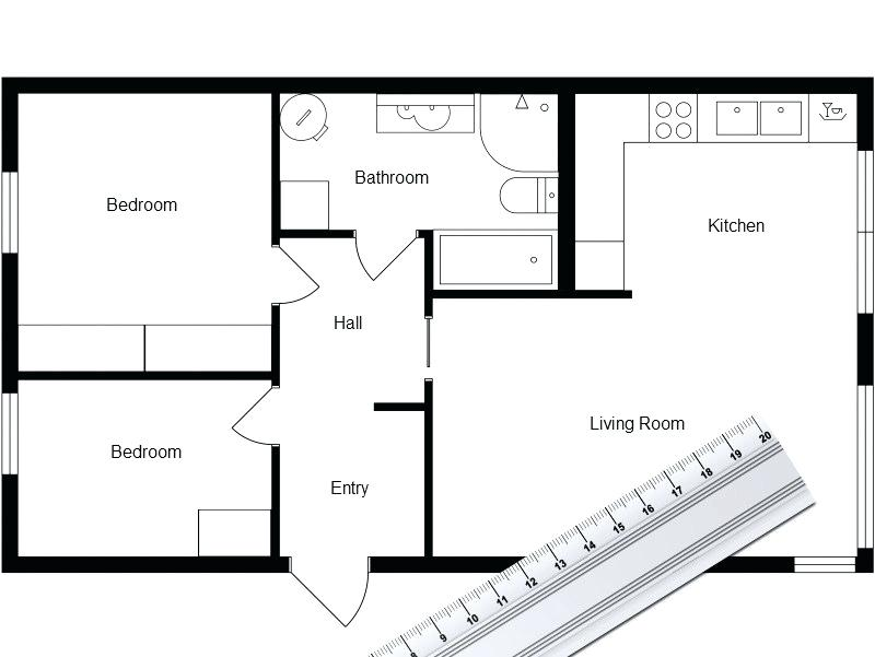 800x601 Plan For Sweet And Best Home Traditional Floor Plan Software Free