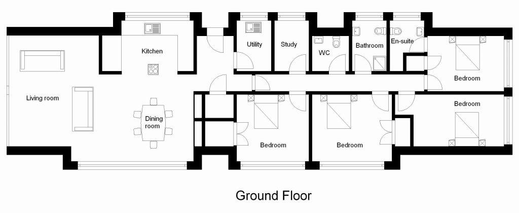 1024x420 Sketchup Floor Plan With Sketchup House Plans Elegant Floor