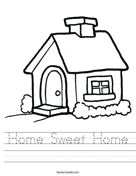 468x605 sweet home drawing sweet home roof drawing