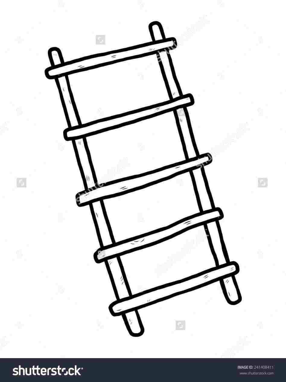 948x1264 diy ladder drawing d ladder how to draw optical illusion
