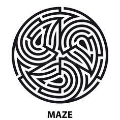 3d Maze Drawing