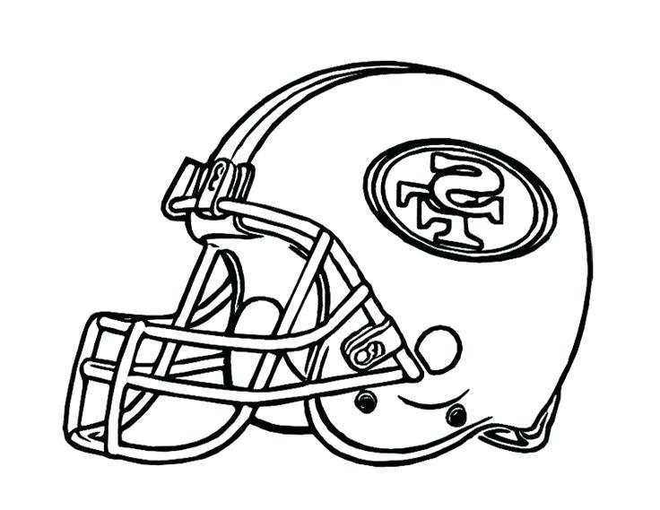 736x569 Football Coloring Pages Simple Free Printable Teams Logos
