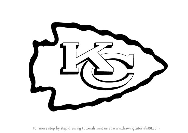800x566 Learn How To Draw Kansas City Chiefs Logo