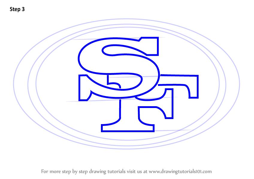 848x600 Learn How To Draw San Francisco Logo