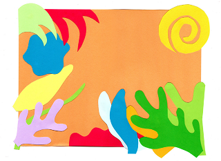 320x233 Henri Matisse's Drawing With Scissors