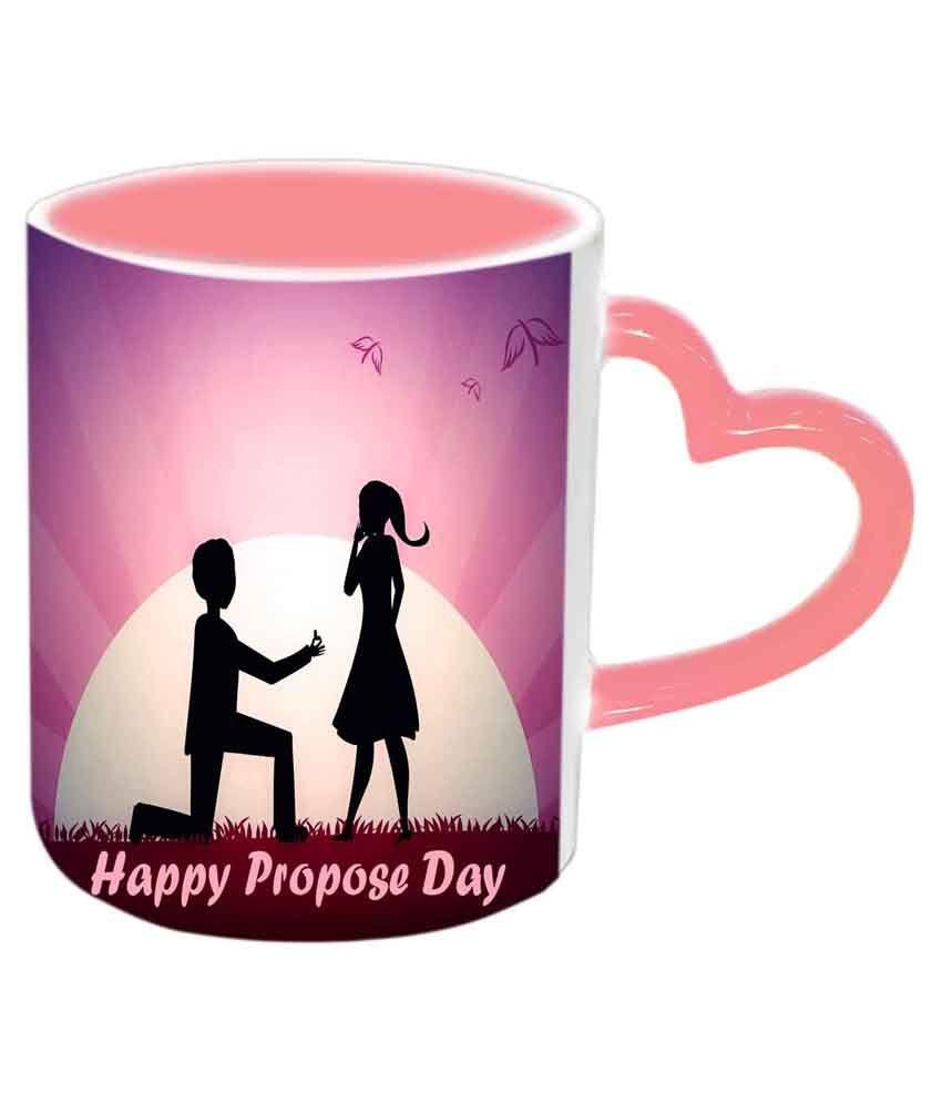 850x995 Jiya Creation Multicolour I Love U Drawing Valentine Pink Handle