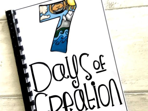 606x455 The Days Of Creation Bible Story