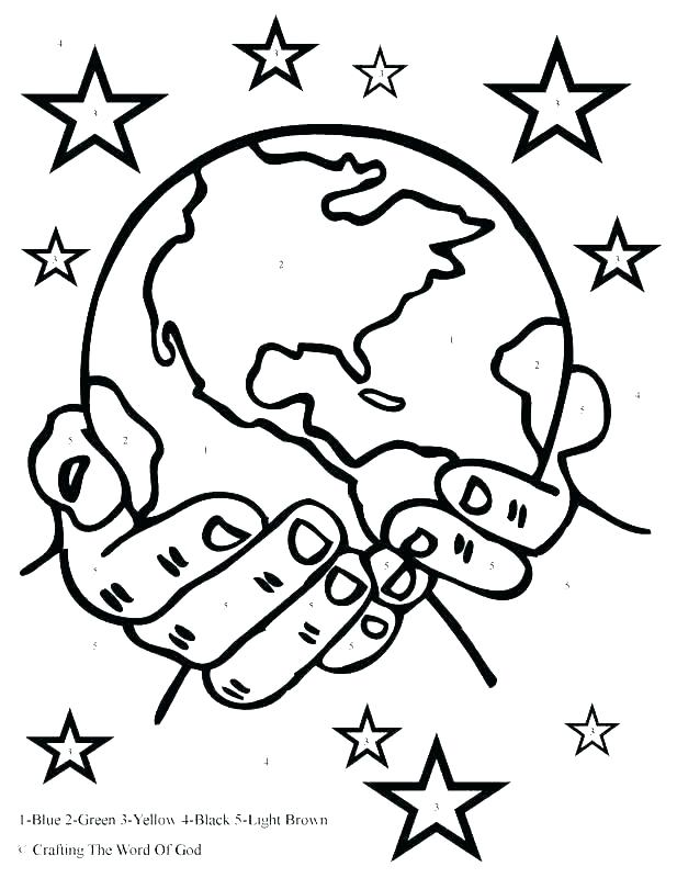 617x800 Coloring Pages Creation Earth