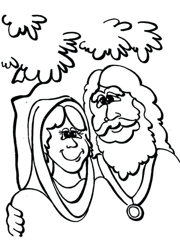 600x823 Abraham And Sarah Coloring
