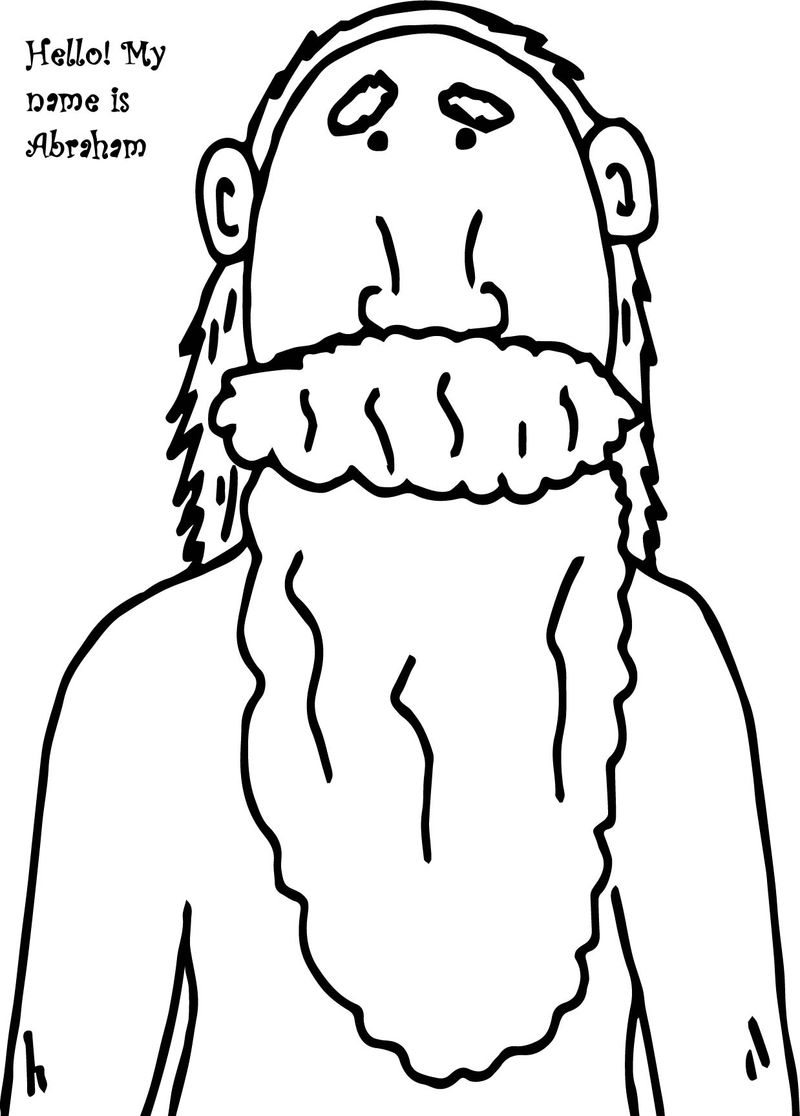 800x1116 Abraham And Sarah Coloring Pages Photo Album