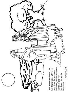 236x314 Abram And Lot Coloring Pages Davis