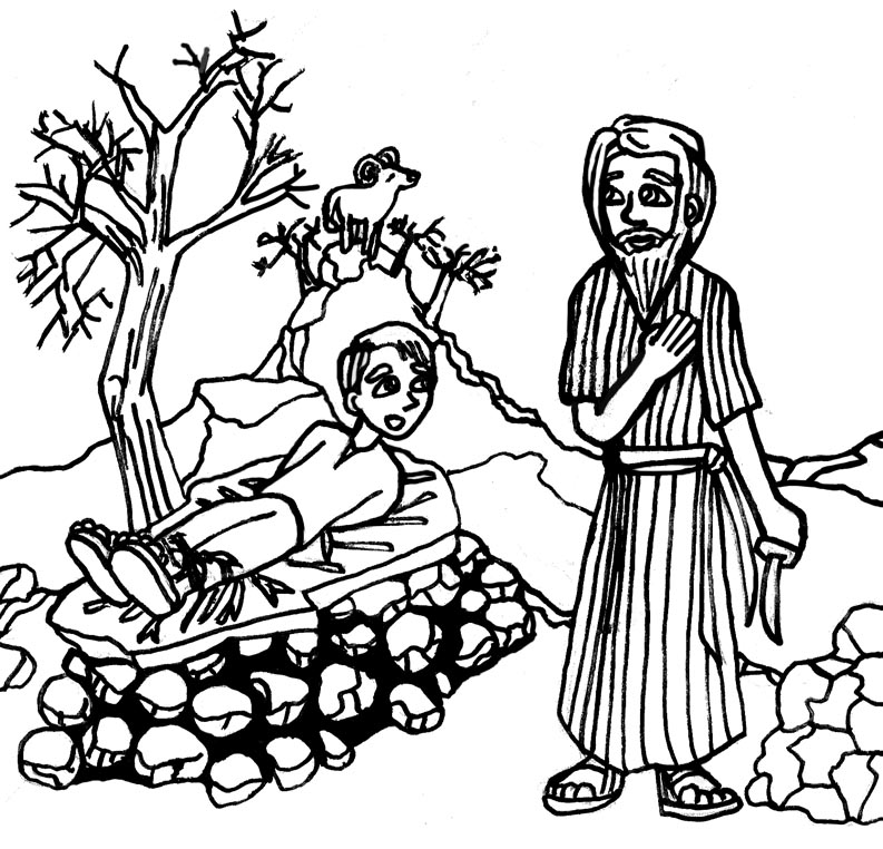 793x762 Huge Collection Of 'abraham And Isaac Clipart' Download More Than