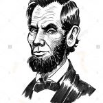 150x150 Abraham Lincoln Cartoon Drawing Luxury Abe Lincoln And His Ax