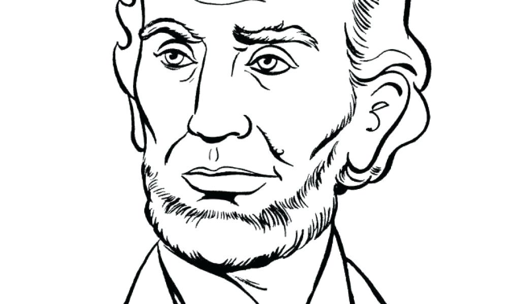 1024x600 Abraham Lincoln Coloring
