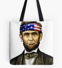 210x230 Abraham Lincoln Drawing Tote Bags Redbubble