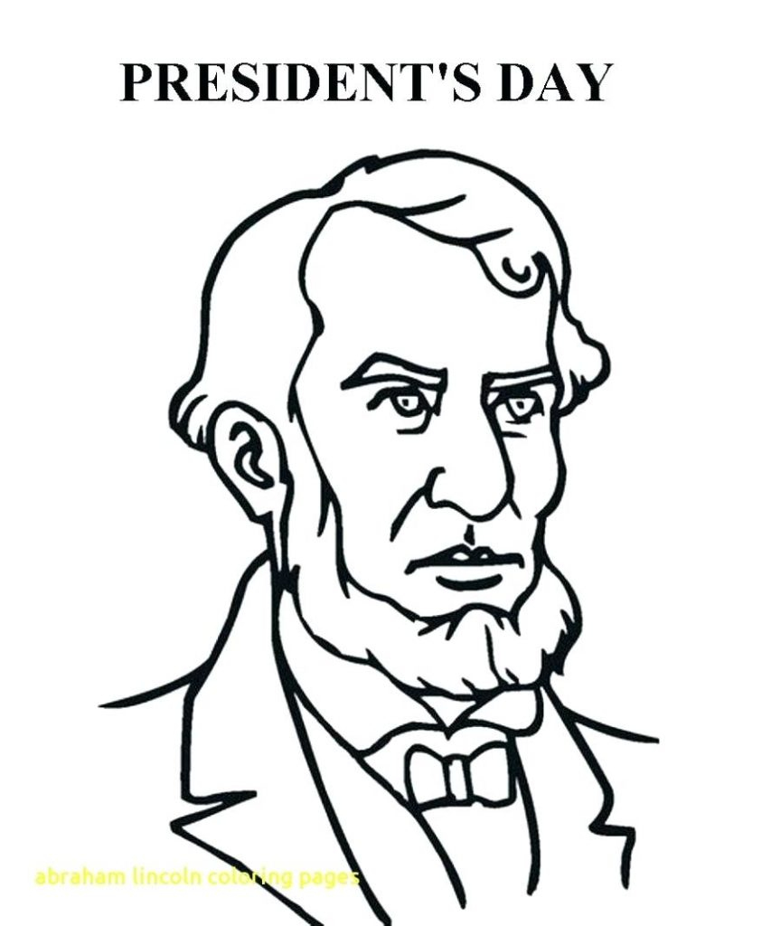 843x1024 Best Abraham Lincoln Coloring