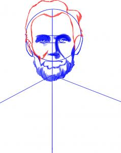 238x302 Drawing Printout How To Draw Abraham Lincoln