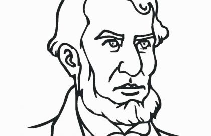 420x270 Free Abraham Lincoln Coloring Pages Fresh Free Printable Paw