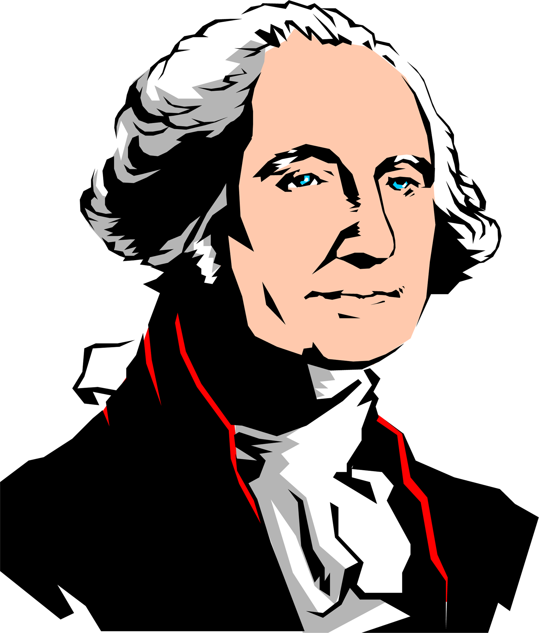 2043x2400 Abraham Lincoln Clip Art Stock George Washington Huge Freebie