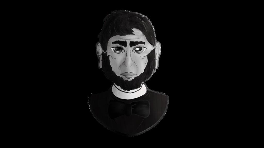 1024x574 Gray Scale Abraham Lincoln