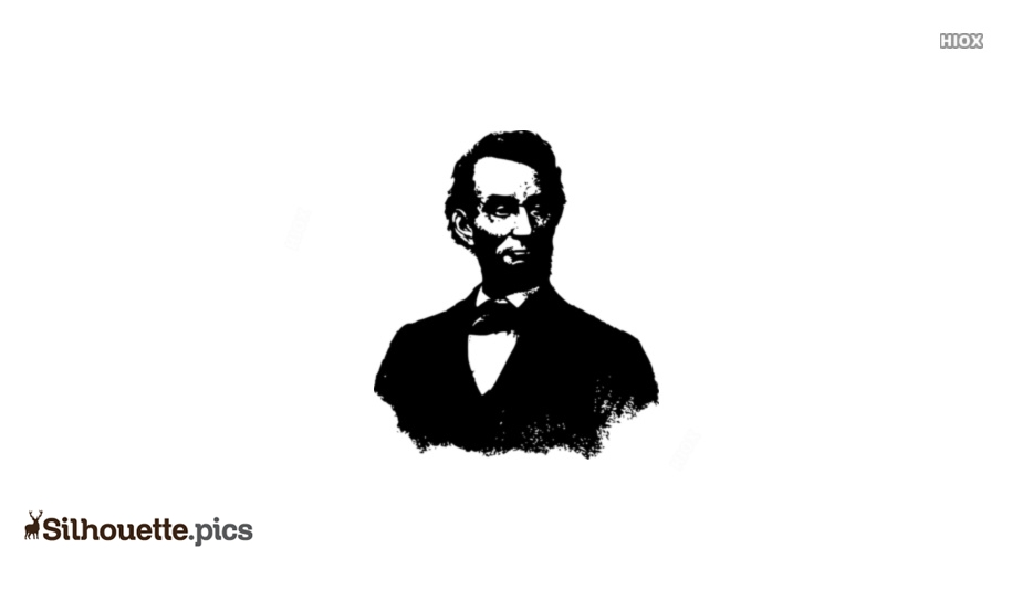 934x534 Abraham Lincoln Black And White Silhouette Image Silhouette Pics