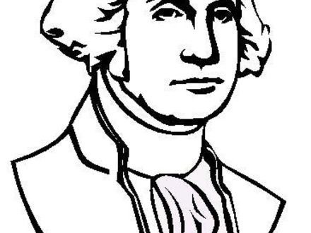 440x330 Free Coloring Pages George Washington Beautiful Abraham Lincoln