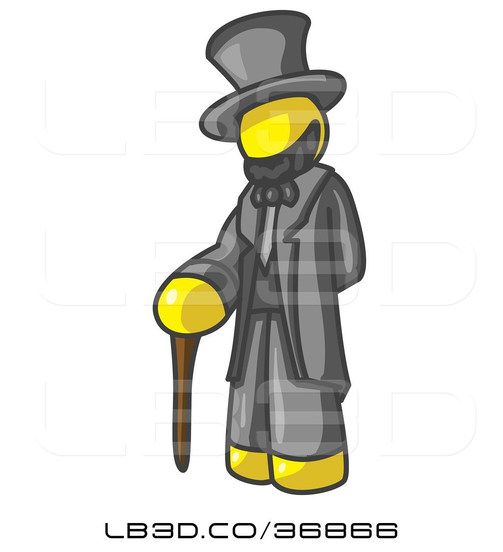 1024x1124 Vector Illustration Of Yellow Guy Depicting Abraham Lincoln