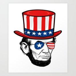 264x264 Abraham Lincoln Art Prints