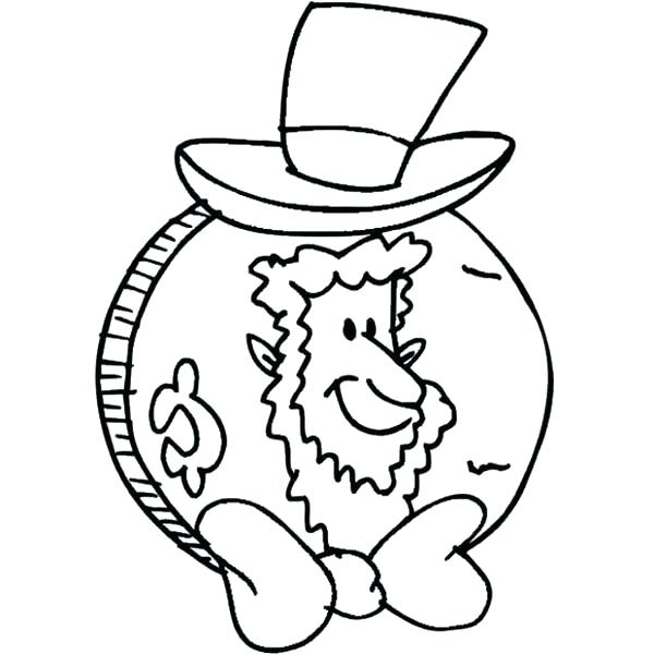 600x600 Abraham Lincoln Coloring Pages Coloring