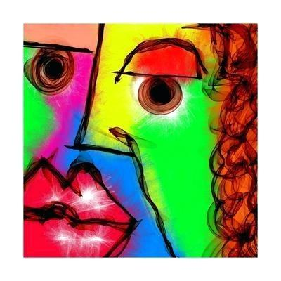 400x400 abstract face art abstract face drawing abstract woman face