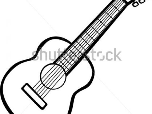 640x480 Acoustic Guitar Clipart Acoutic