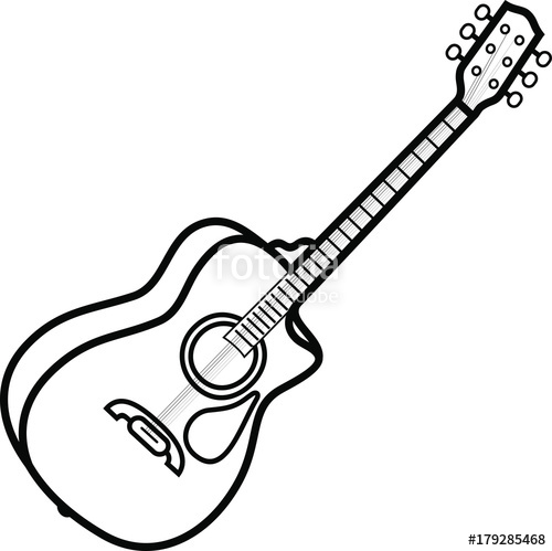 500x499 String Acoustic Guitars Stock Image And Royalty Free Vector