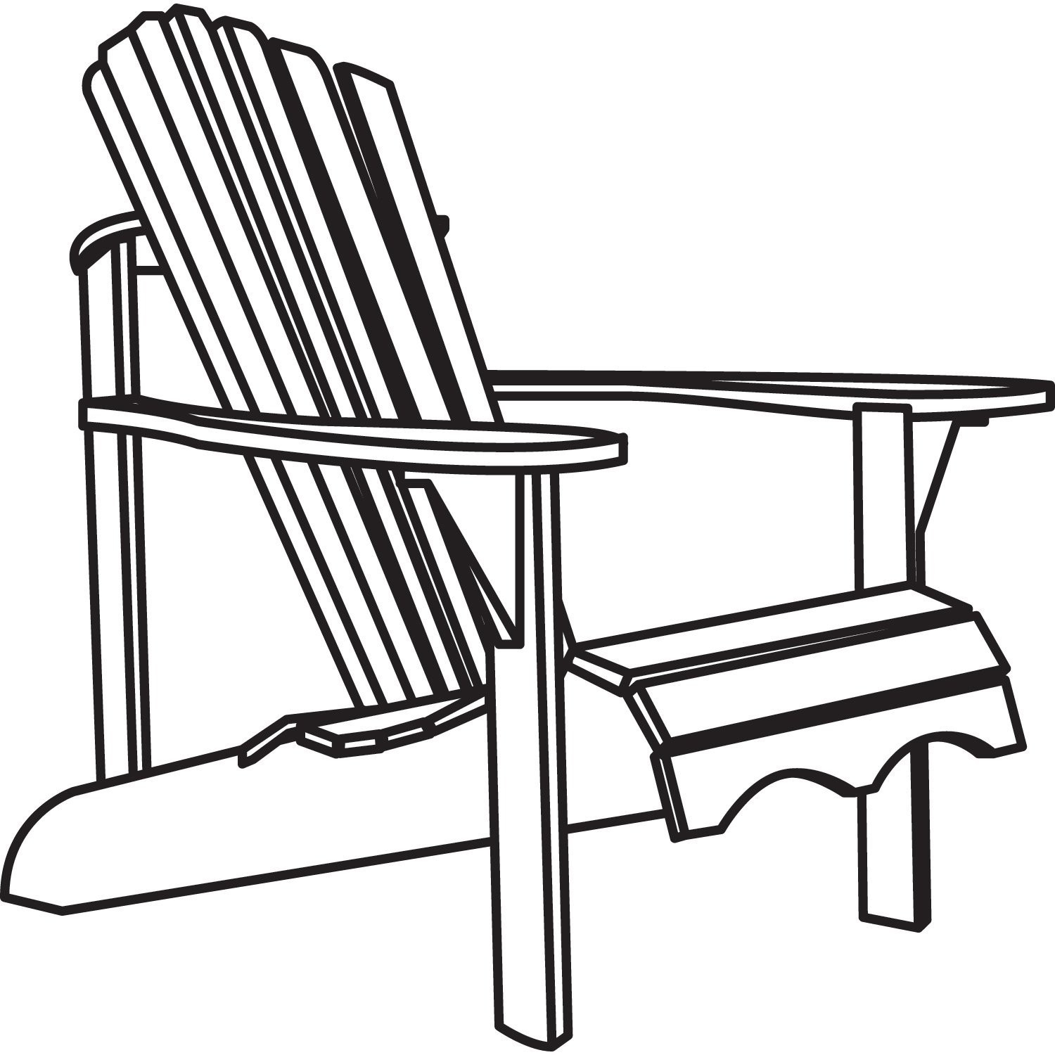 Strange Adirondack Chair Drawing Free Download Best Adirondack Beatyapartments Chair Design Images Beatyapartmentscom