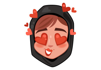 400x277 Draw A Woman Emoji Stickers In Adobe Illustrator