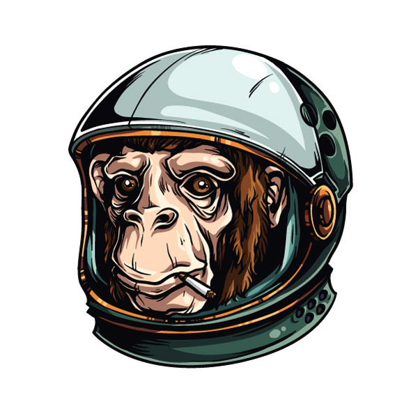 600x600 Adobe Illustrator Tutorial How To Draw An Astrochimp