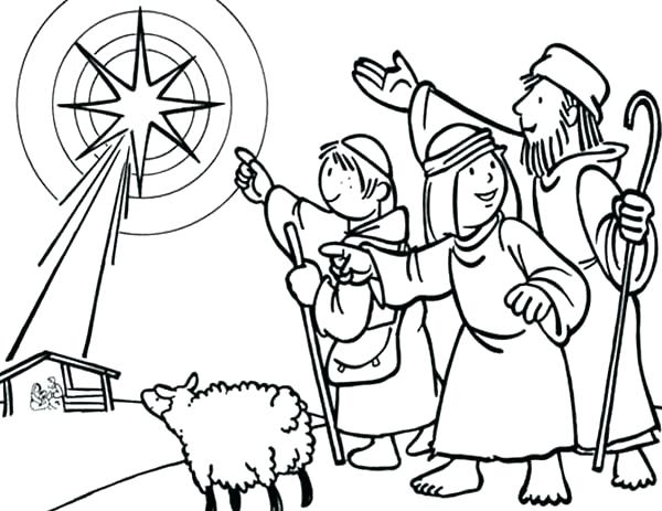 600x463 free advent coloring pages free advent coloring pages great