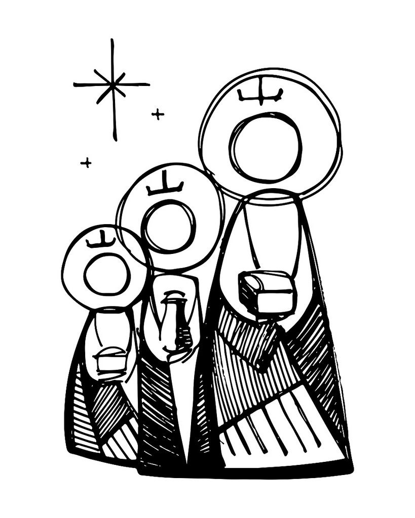 819x1024 the three wise men advent and such wise men, illustration