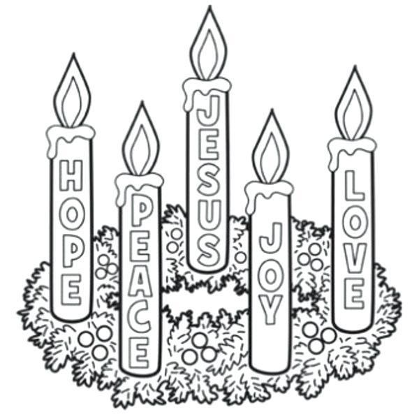 600x600 advent coloring pages advent coloring