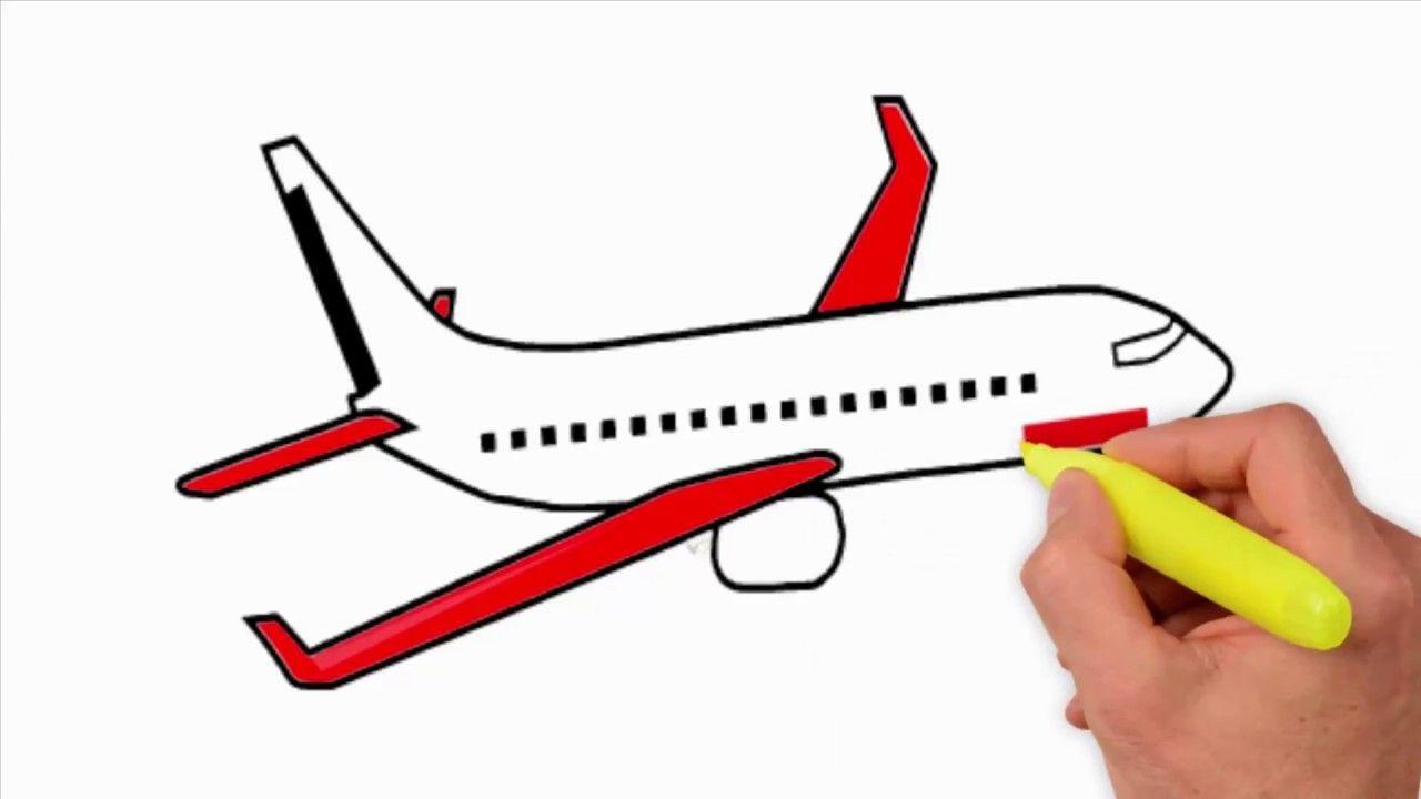 Aeroplane Drawing | Free download best Aeroplane Drawing on