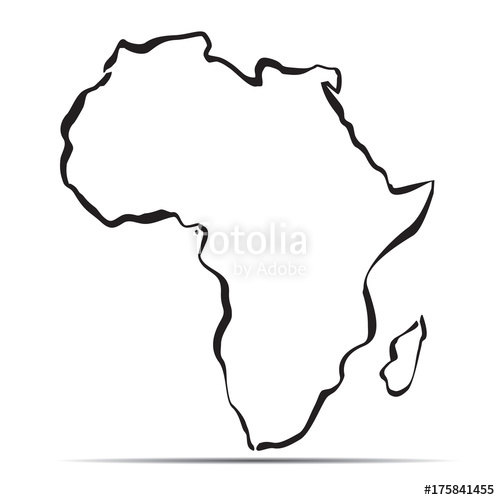 Map Of Africa Drawing.Africa Drawing Free Download Best Africa Drawing On Clipartmag Com