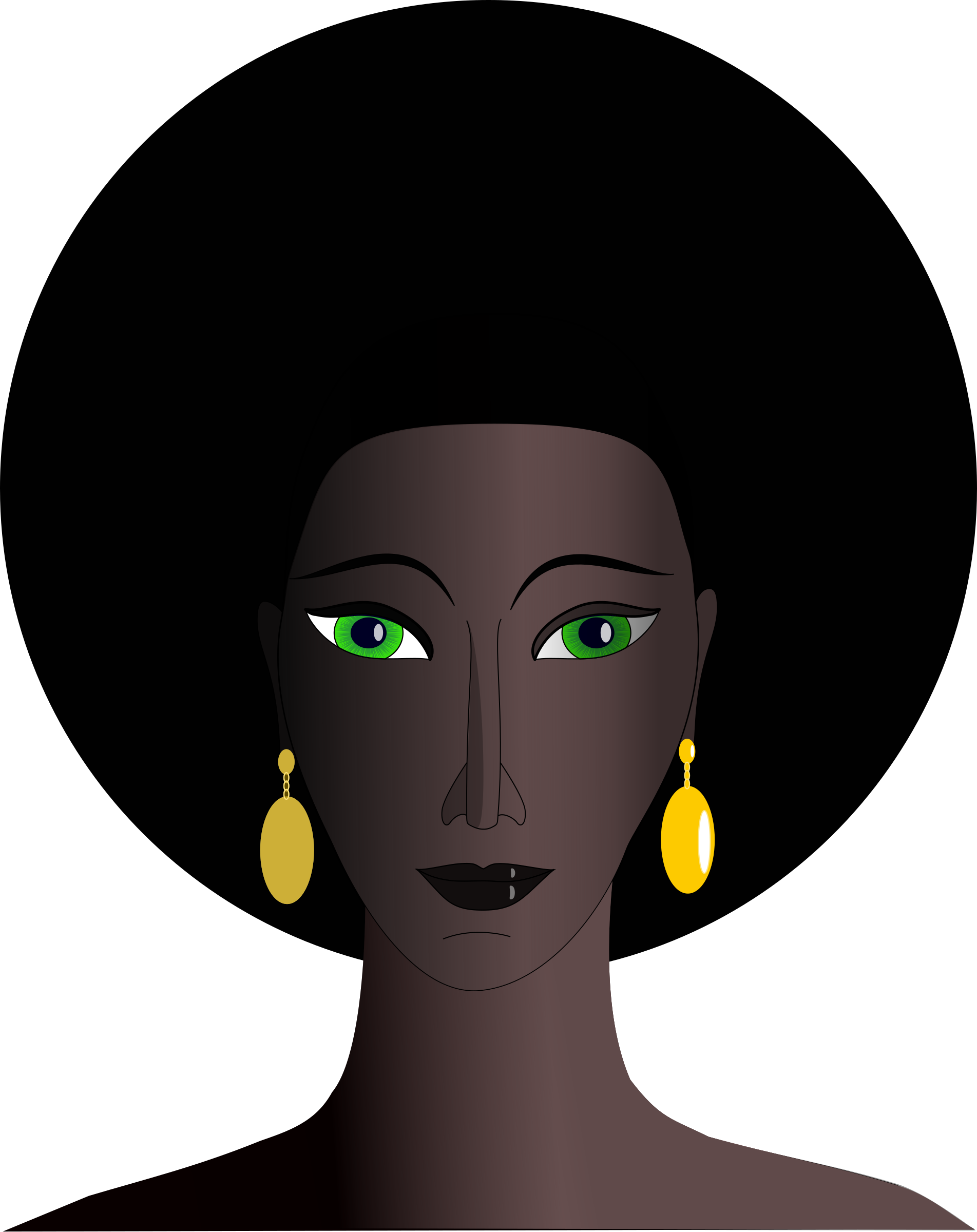 1903x2400 Collection Of Free Afro Drawing Queen Download On Ui Ex
