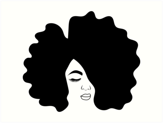 549x413 Huge Collection Of 'black Girl With Afro Drawing' Download More
