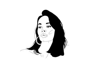 340x270 Portrait Drawing Etsy