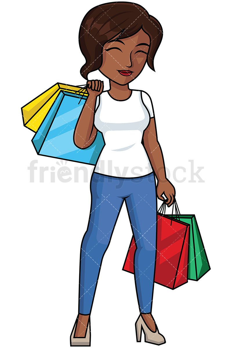 800x1200 Collection Of Free Shopping Clipart African American Amusement