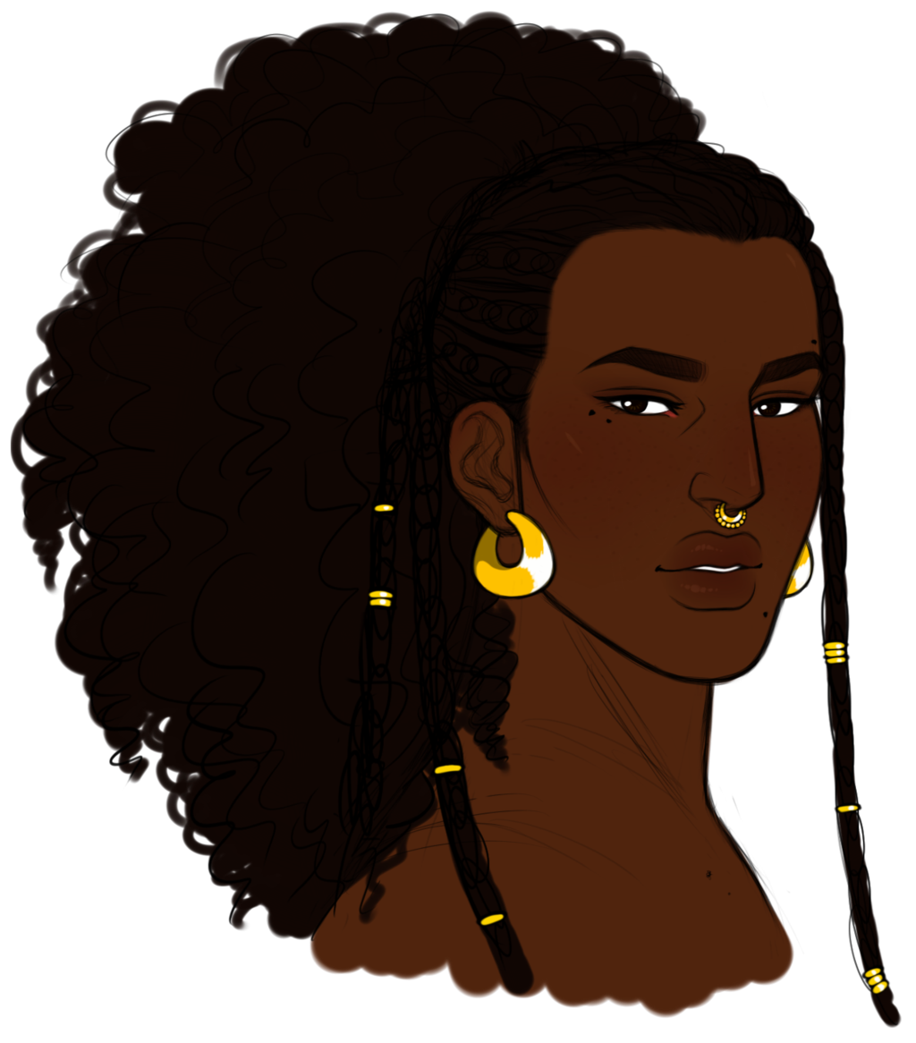 1024x1166 Collection Of Free Drawing Dreadlocks Face African American