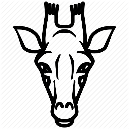 512x512 African, Animal, Giraffe, Mas Nature Icon